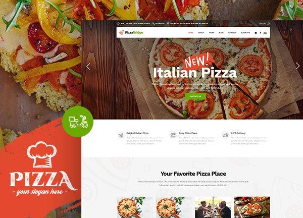 Pizza Parlor Business Website