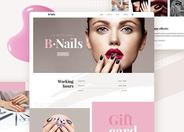 Nail Salon Business Website