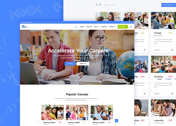 Educational Center Business Website