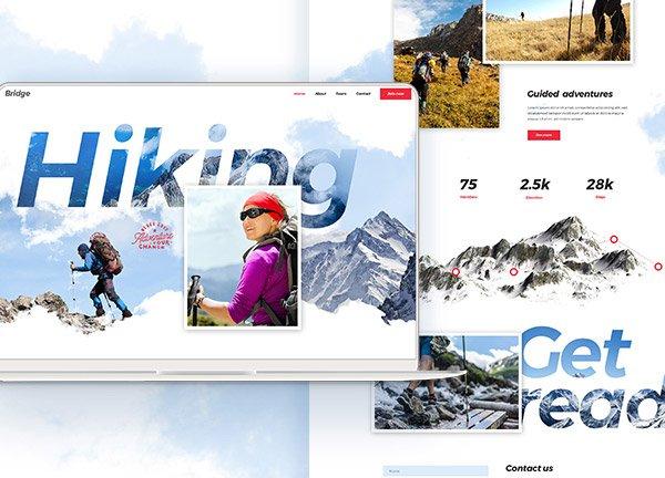 Mountain Climbing Business Website