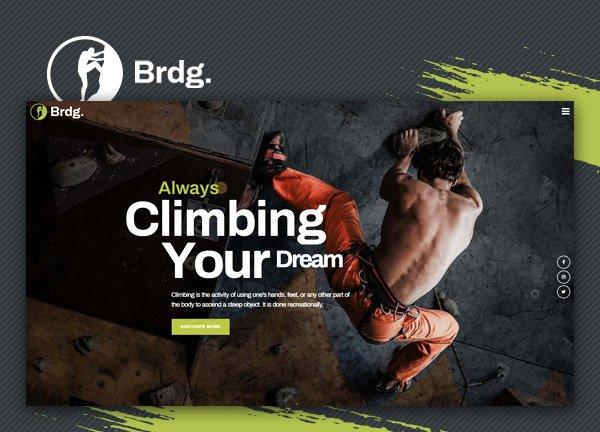 Climbing Club Business Website