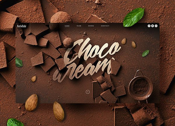 Chocolate Business Website