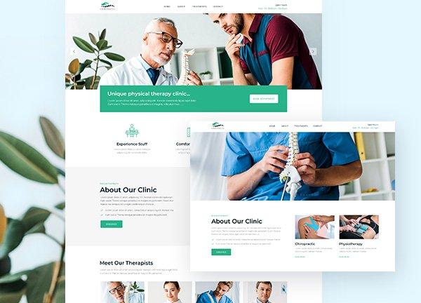 Chiropractic Business Website