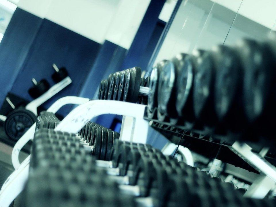fitness website design gym
