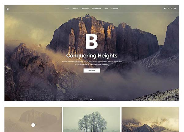 Outdoors Creative Website