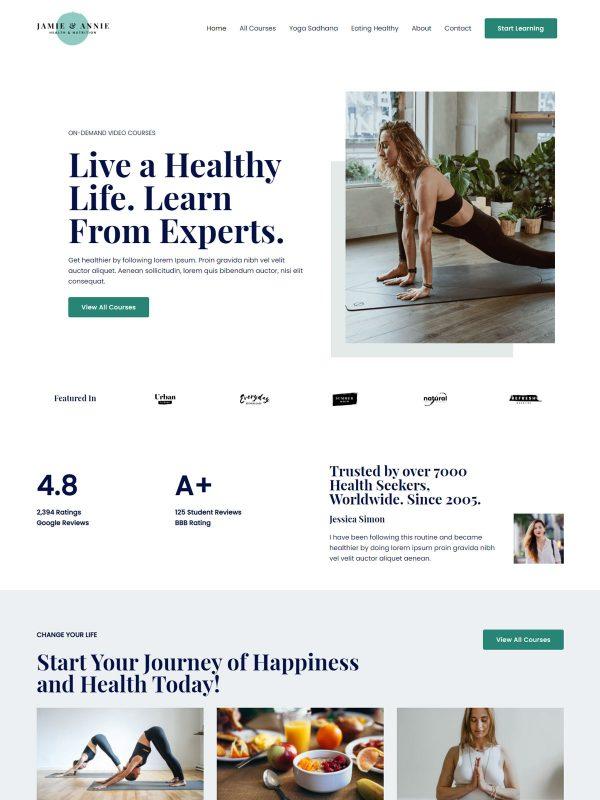 Fast and Lightweight Websites