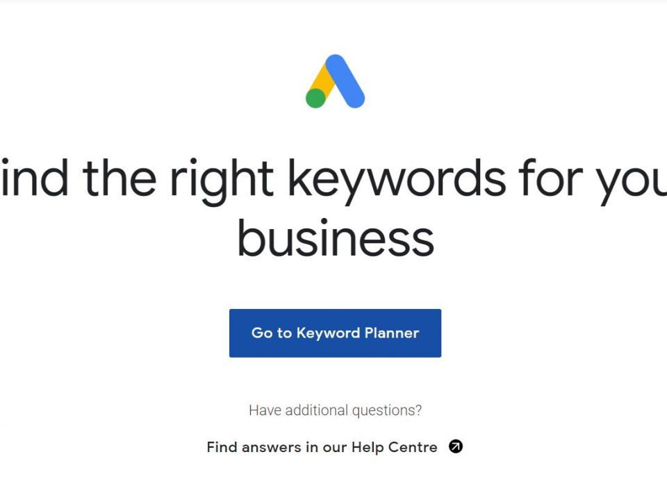 Free Google Keyword Planner for Keyword Research